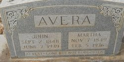 Martha <i>Williams</i> Avera