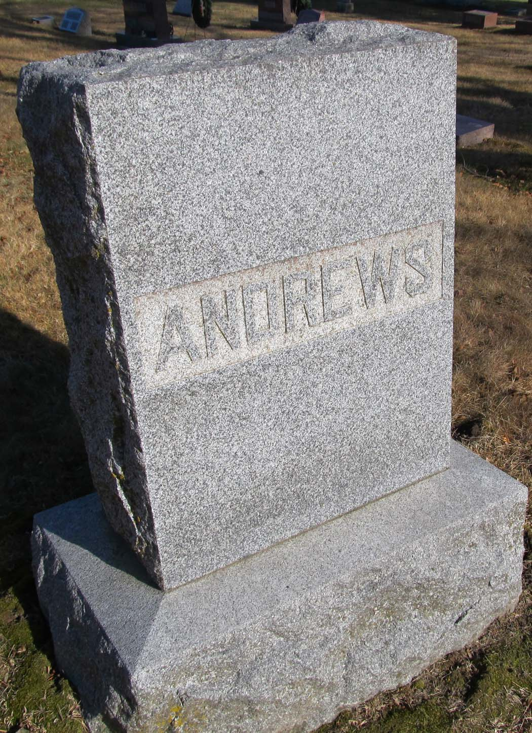Elvira <i>Barnes</i> Andrews