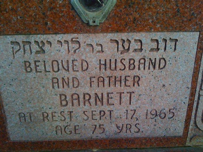 Barnett Barney Goodman