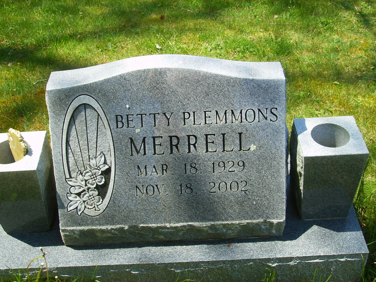 Betty <i>Plemmons</i> Merrell