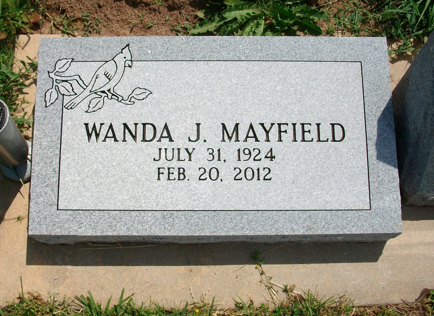 Wanda June <i>Clippinger</i> Mayfield