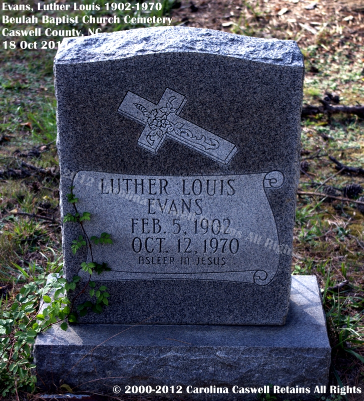 Luther Louis Evans