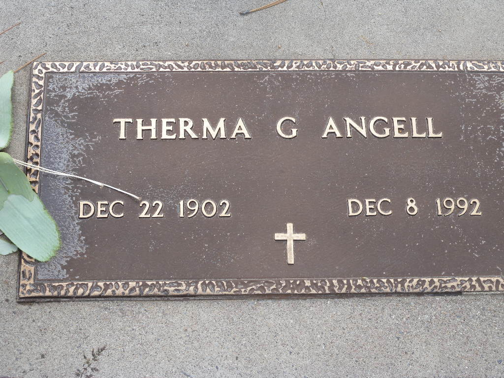 Therma Grace <i>Stratton</i> Angell