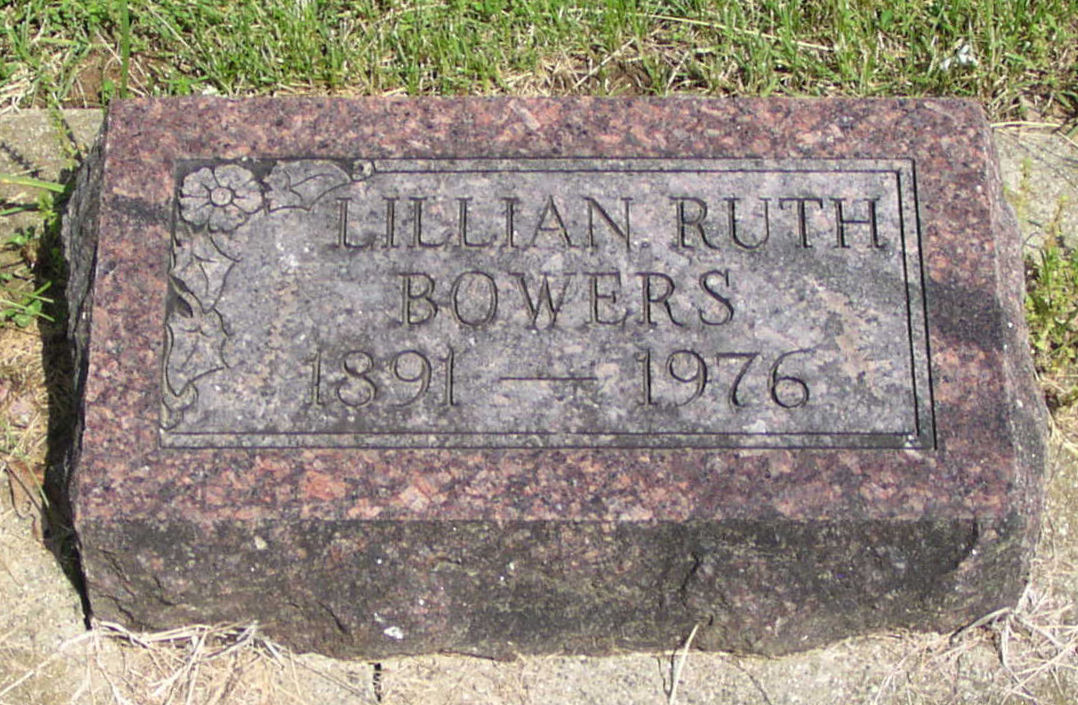 Lillian Ruth Bowers