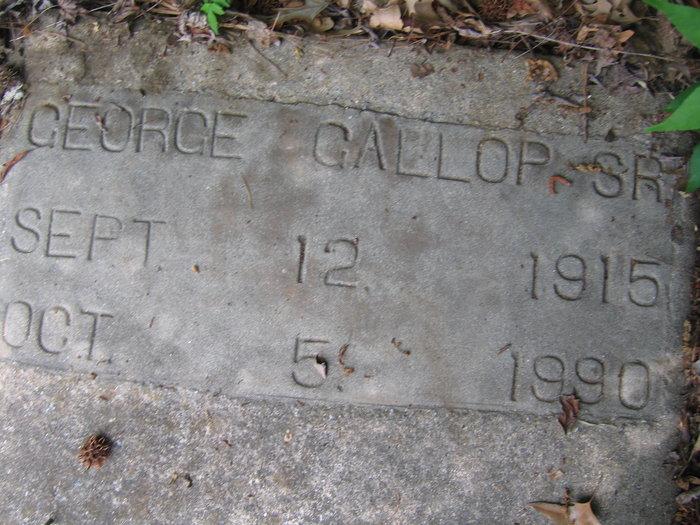 George Gallop, Sr