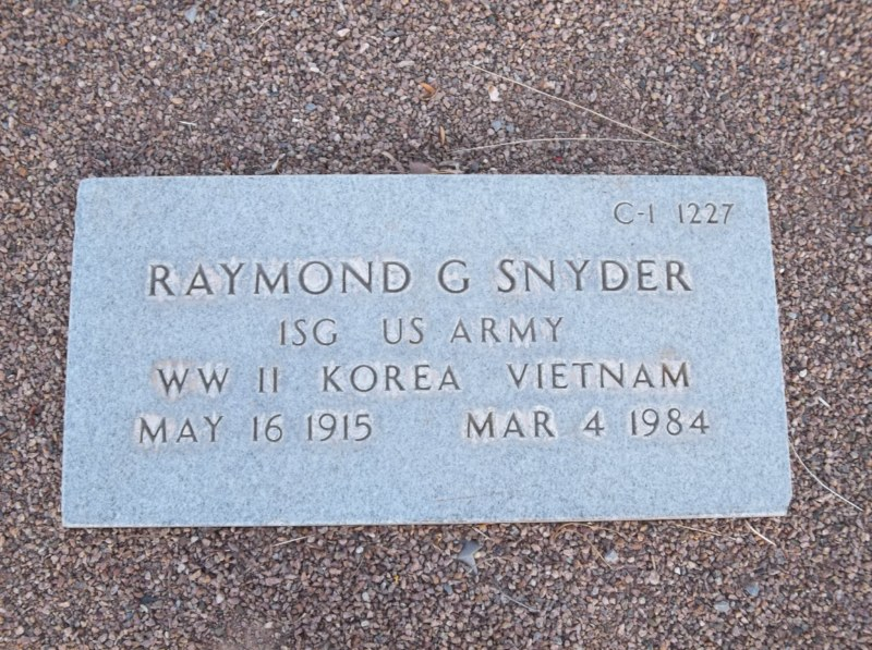 Raymond G. Snyder