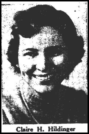 Claire Helen <i>Hildinger</i> Moldovan