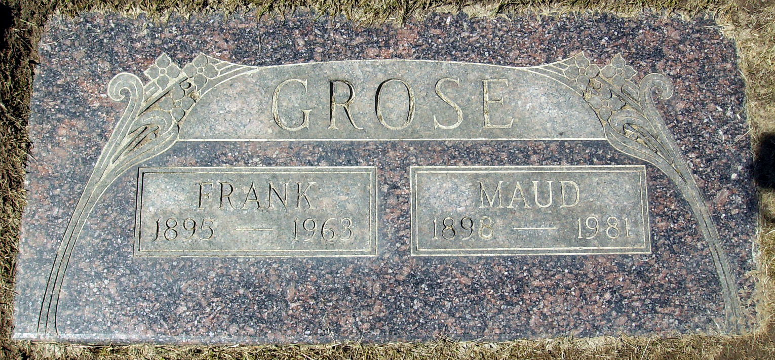 Maud E. <i>Warren</i> Grose