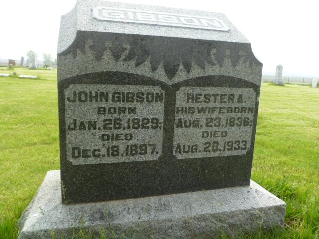 Hester Ann <i>Lathrop</i> Gibson