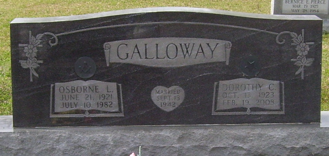Dorothy Crain Galloway (1923-2008) - Find A Grave Memorial