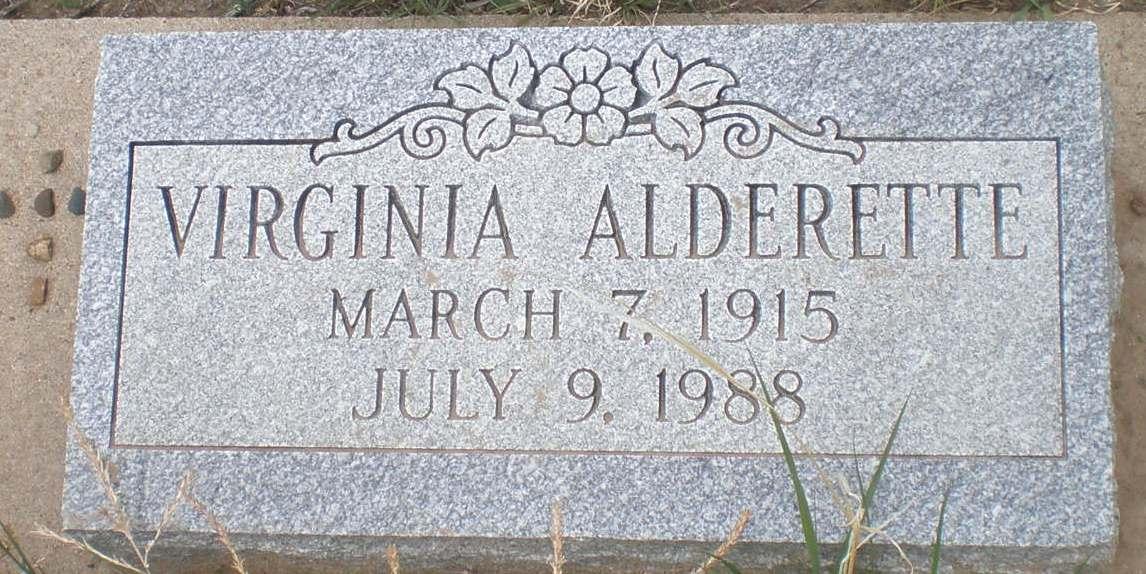 Virginia Alderette