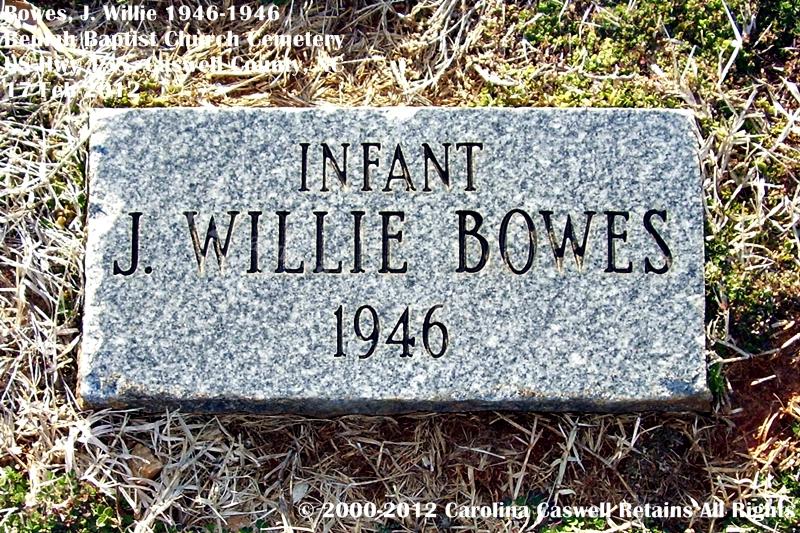 J. Willie Bowes