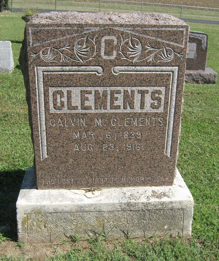 Calvin Morris Clements