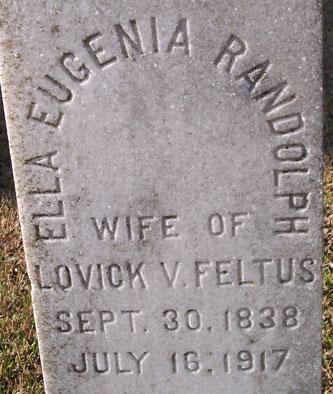 Ella Eugenia <i>Randolph</i> Feltus