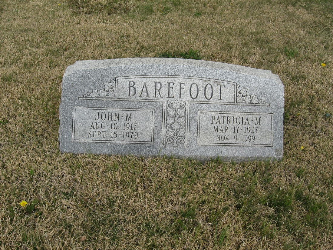 Patricia M Barefoot