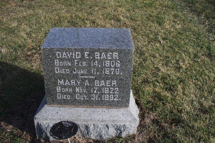 David E. Baer