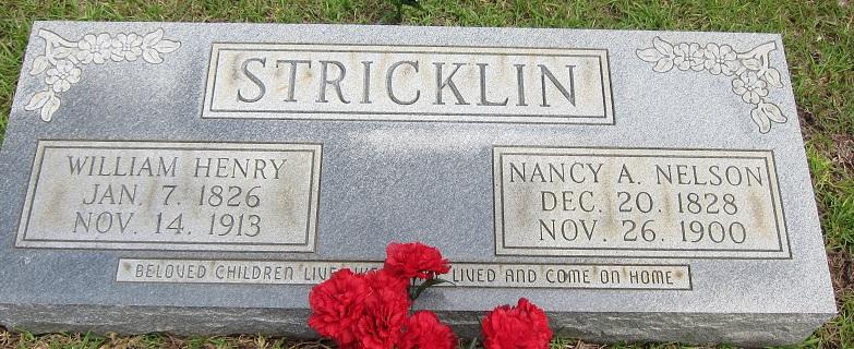 Nancy A. <i>Nelson</i> Stricklin