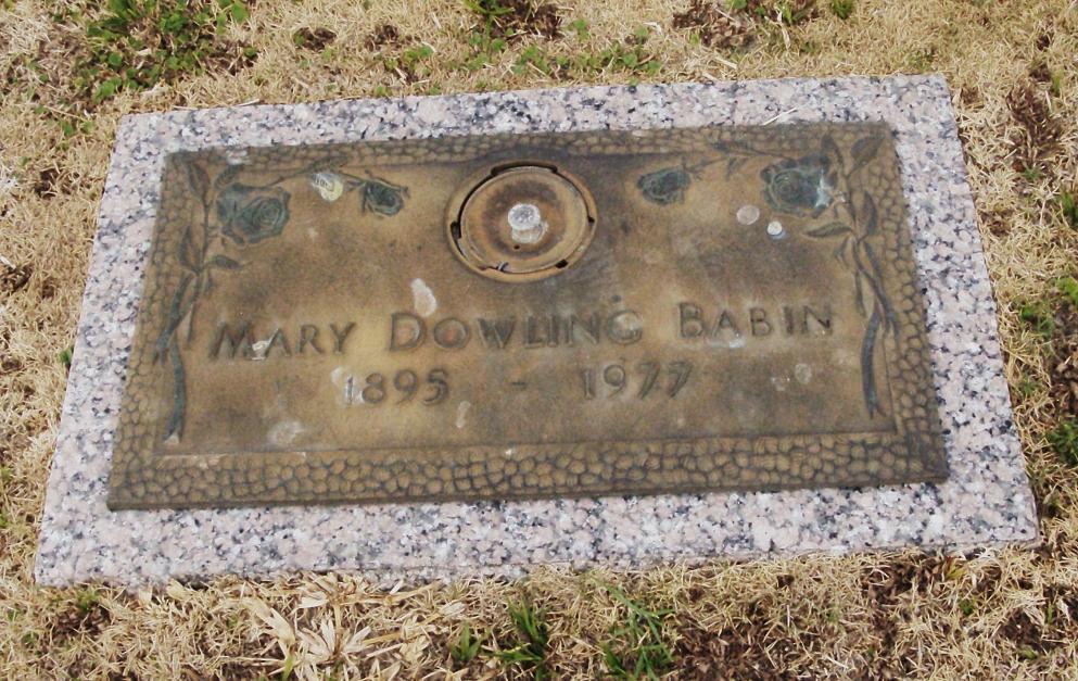 Mary M <i>Farrell</i> Babin