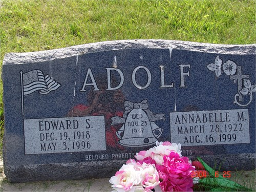 Annabelle M <i>Carroll</i> Adolf