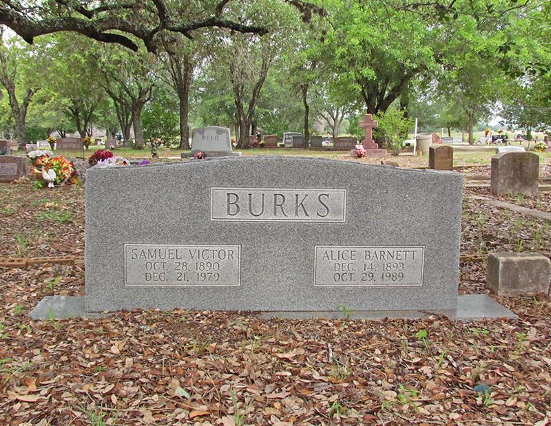 Alice Elizabeth <i>Barnett</i> Burks
