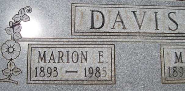 Marion E. Davis