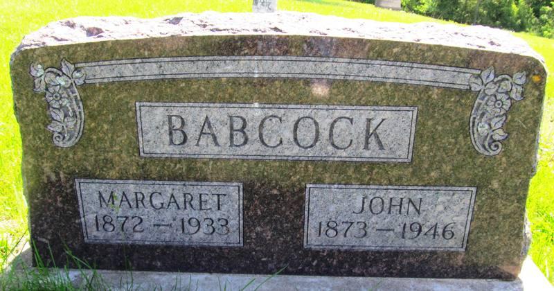 Margaret B <i>Brown</i> Babcock