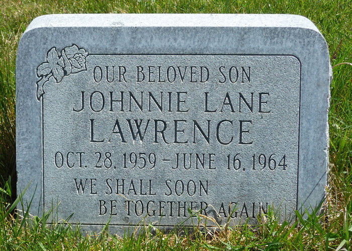 Johhnie Lane Lawrence