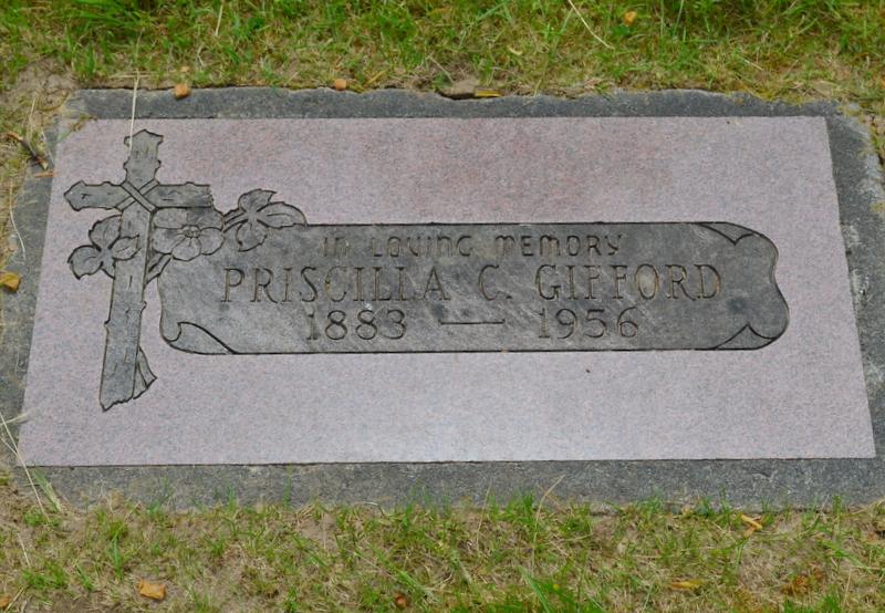 Priscilla Christine Sadie <i>Falnes</i> Gifford