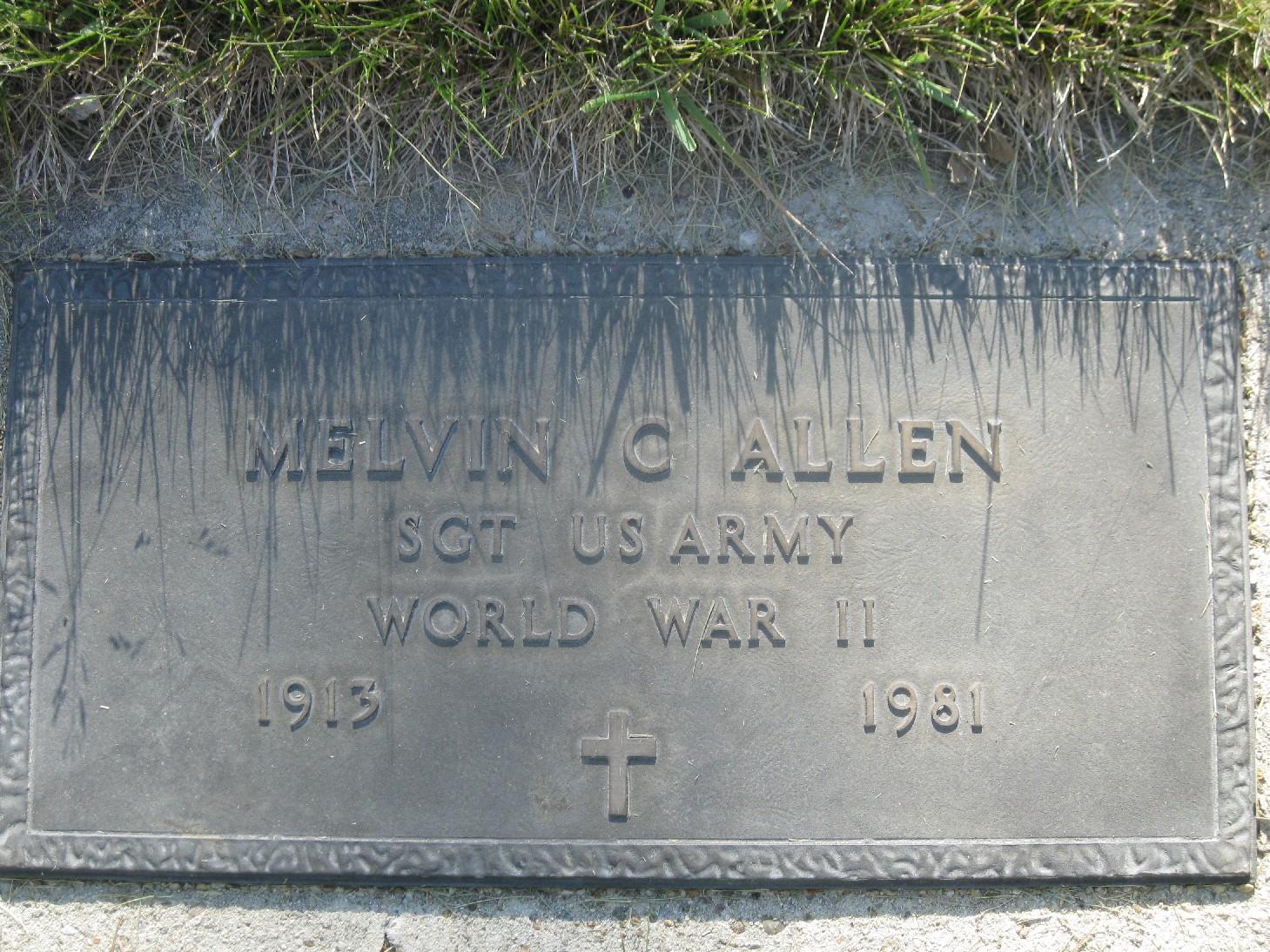 Melvin Claude Allen