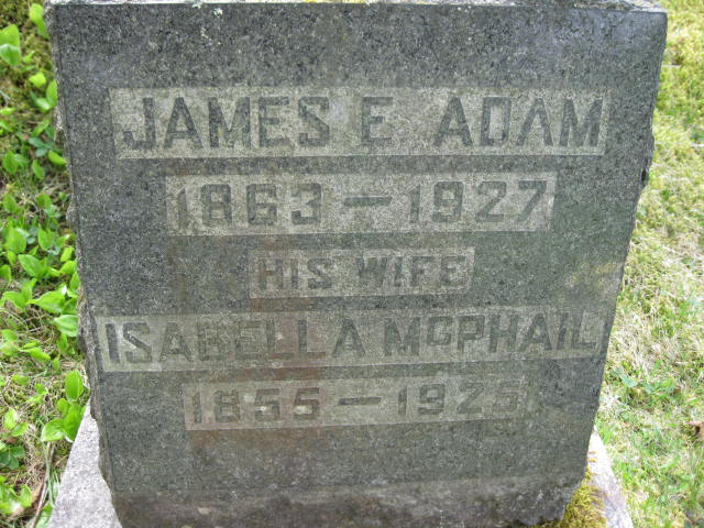 Isabella <i>McPhail</i> Adam