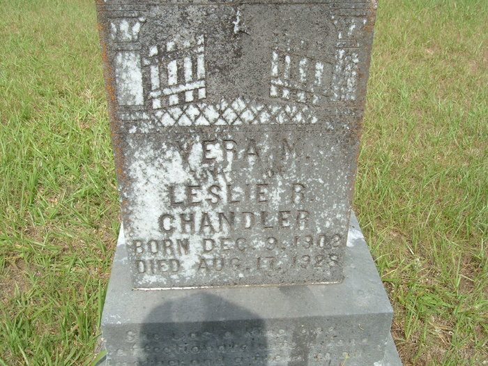 Vera M <i>Clemens</i> Chandler