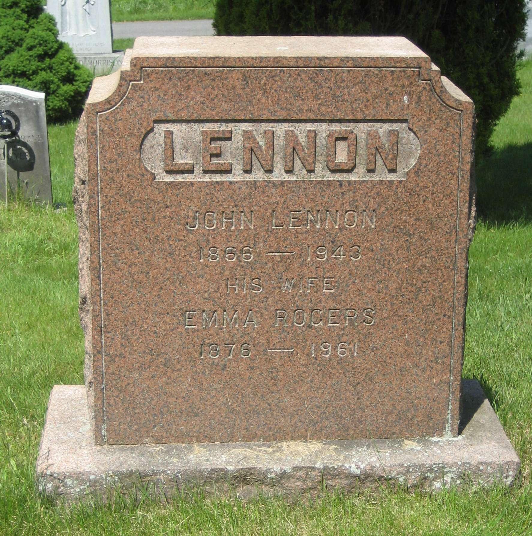 John Lennon 1866 1943 Find A Grave Memorial