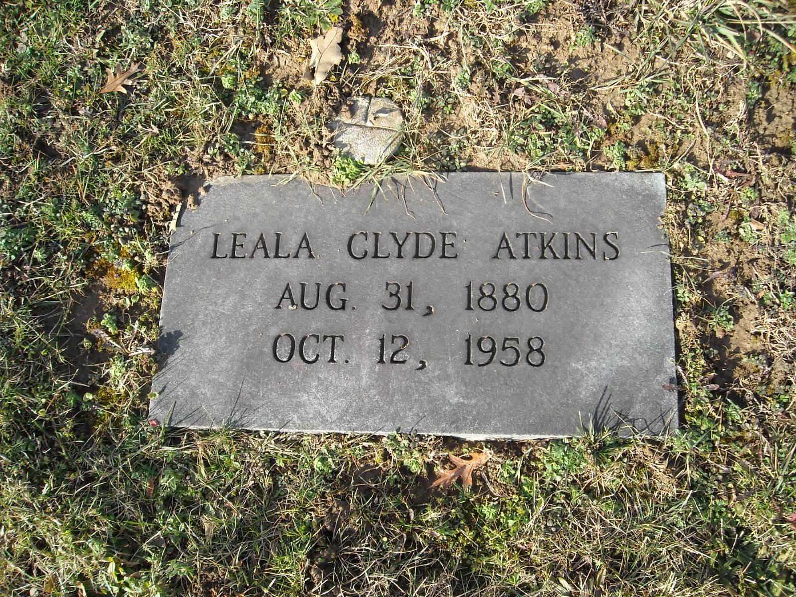 Leala <i>Clyde</i> Atkins