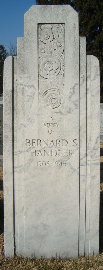Bernard S Handler
