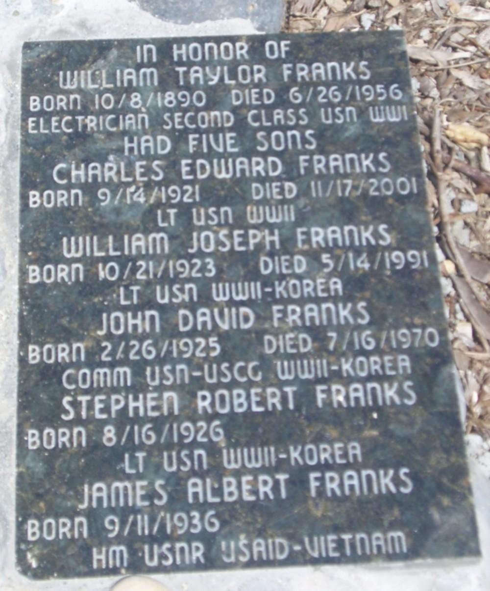 Franks Memorial