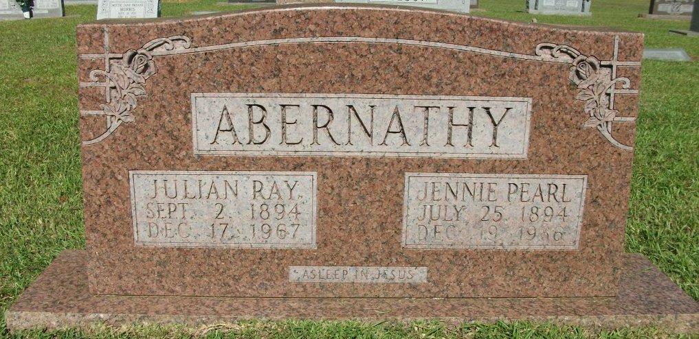 Jennie Pearl <i>Fisher</i> Abernathy
