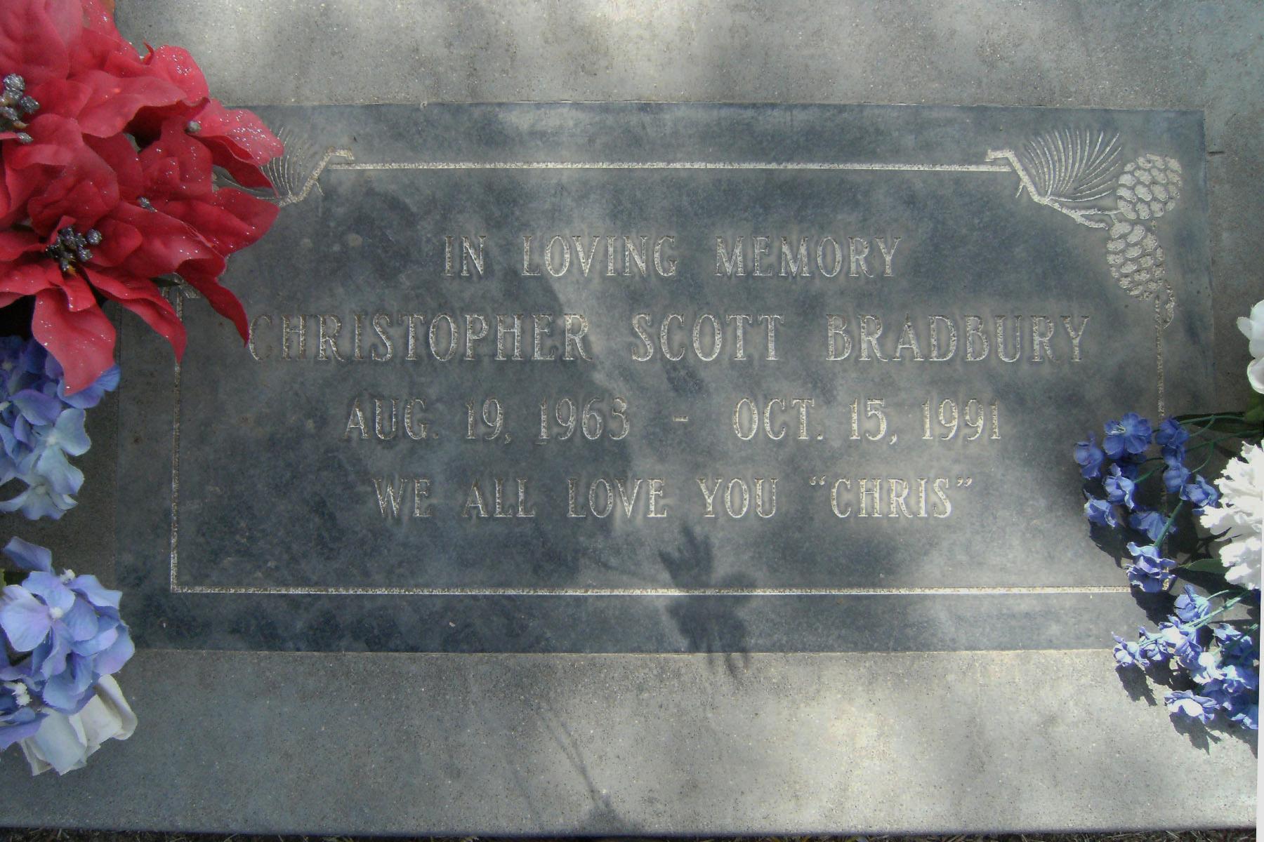 Christopher Scott Bradbury