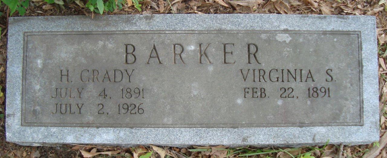 H Grady Barker