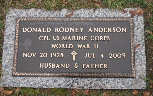 Corp Donald Rodney Anderson