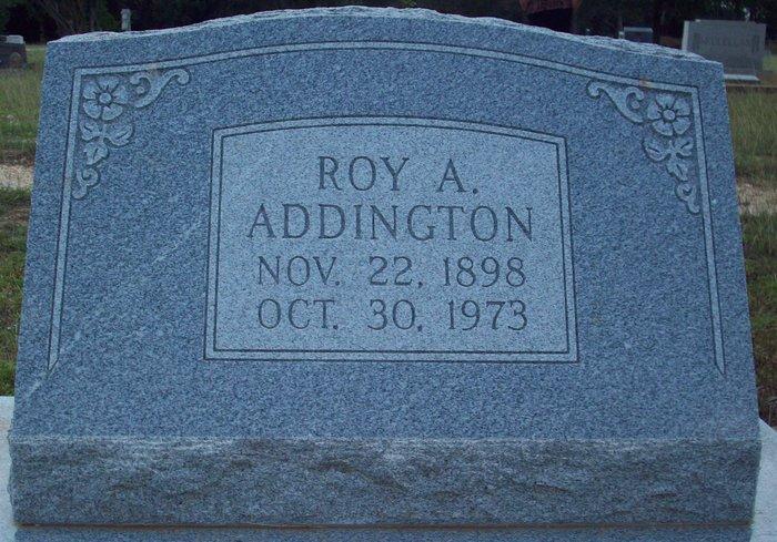 Roy Alexander Addington