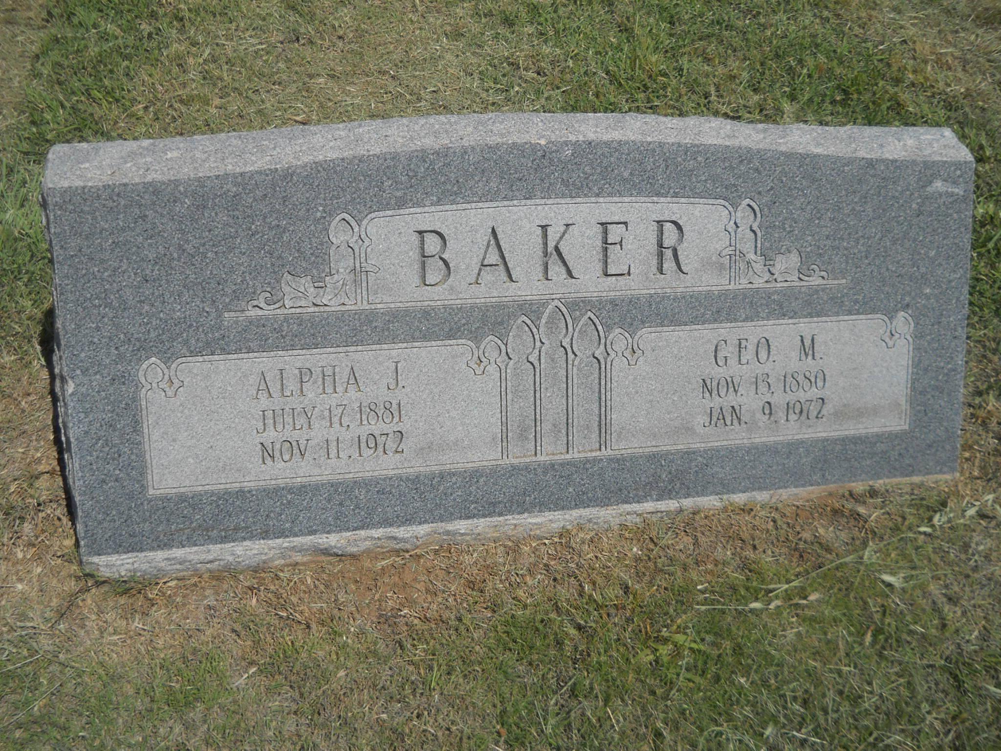Alpha <i>Bradley</i> Baker
