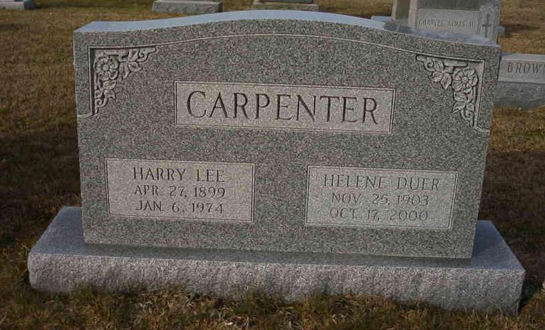 Helene <i>Duer</i> Carpenter