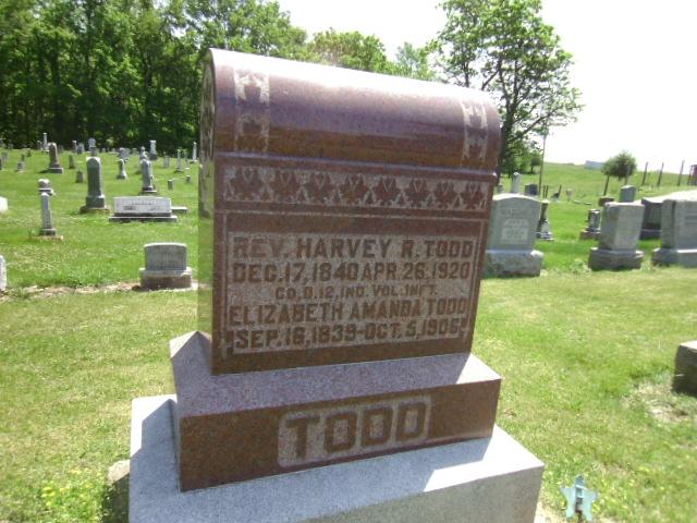Elizabeth Amanda Boley Todd 1839 1906 Find A Grave Memorial