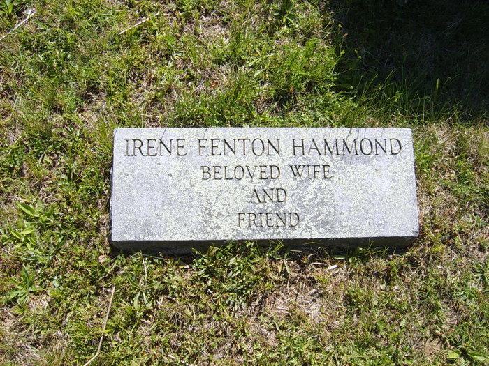 Irene <i>Fenton</i> Hammond