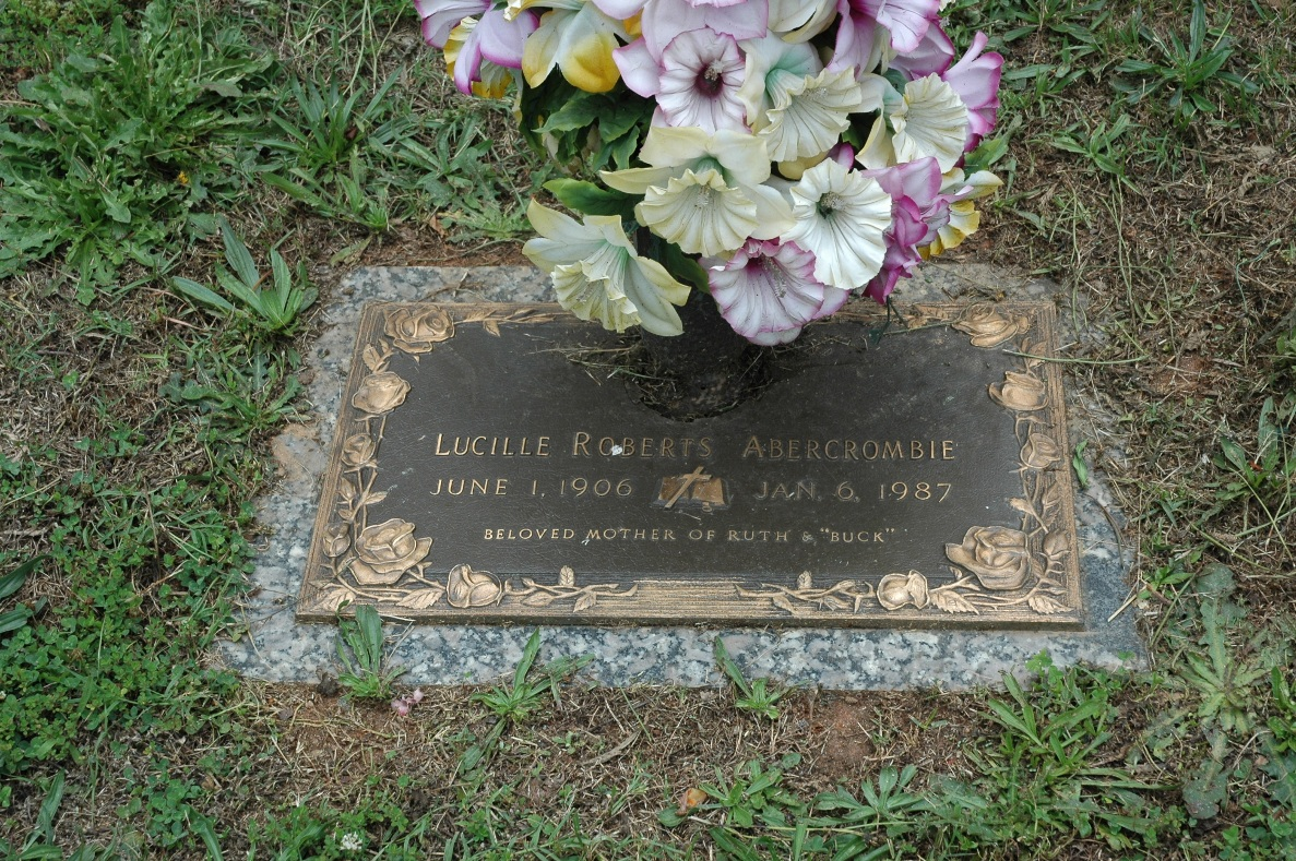 Lucille <i>Roberts</i> Abercrombie