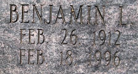 Benjamin Louis Bennie Bennett
