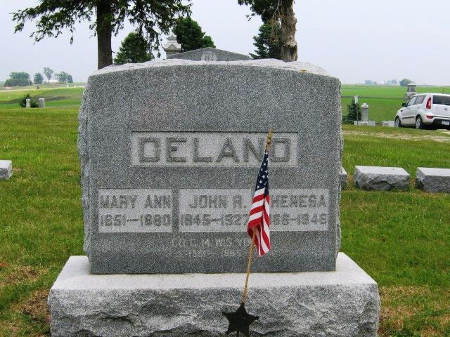Mary Ann <i>Dennis</i> Delano