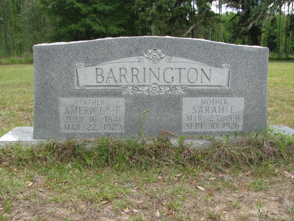 Sarah Elizabeth <i>Bishop</i> Barrington