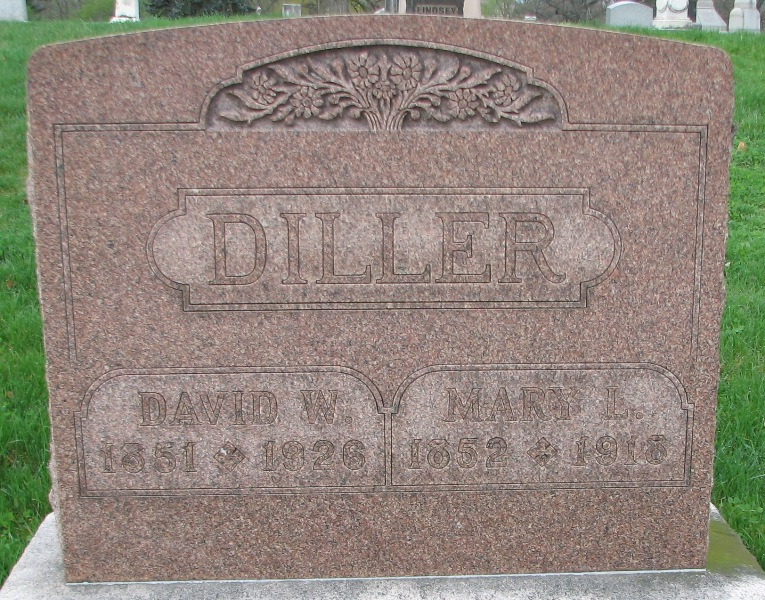 Mary Lavinia <i>Warner</i> Diller