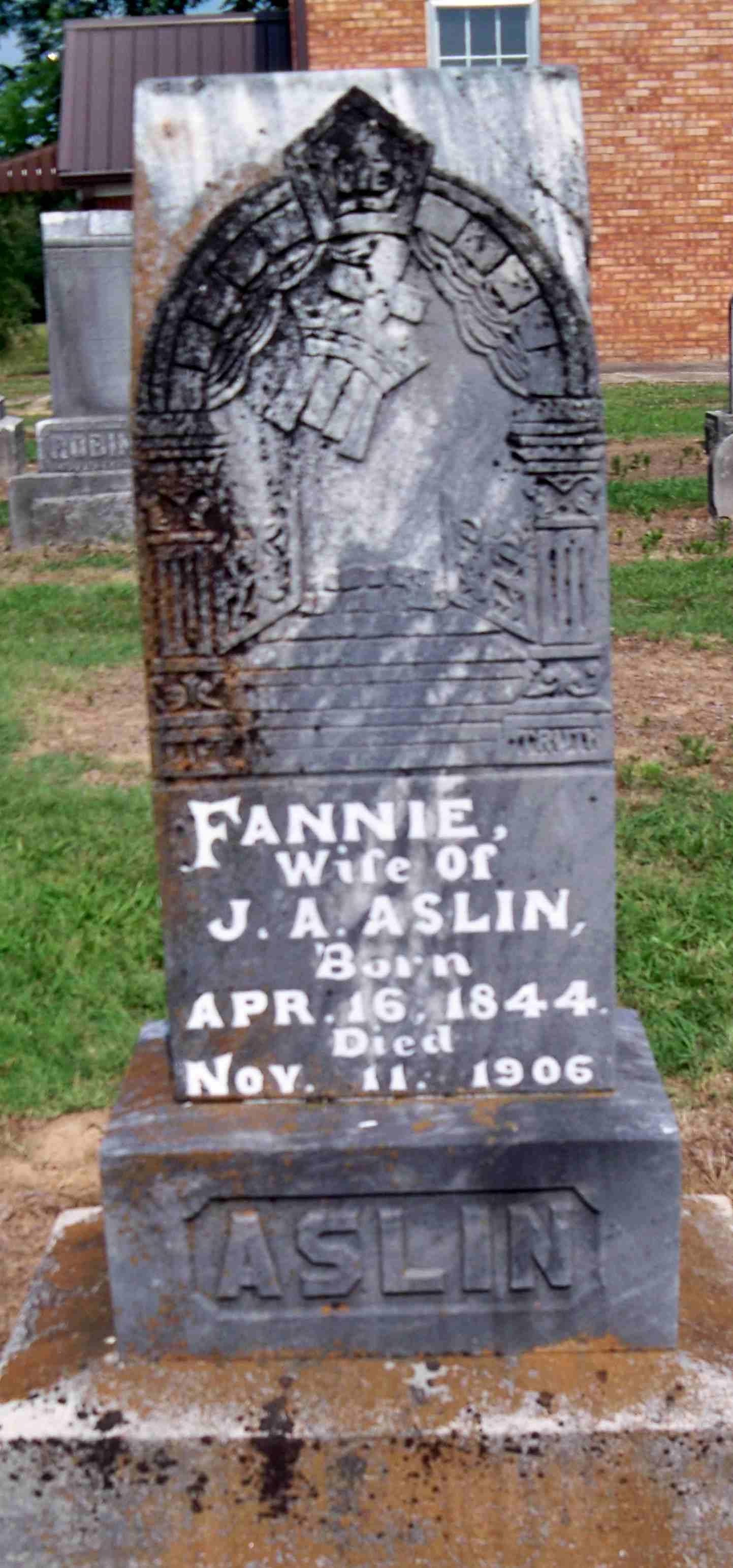 Fannie Aslin